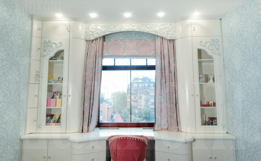 Спальня в стиле модерн для девочки